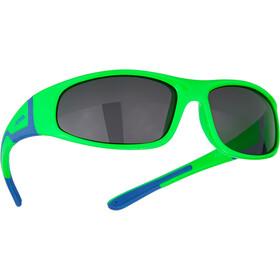 Alpina Flexxy Glasses Kids neon green-blue